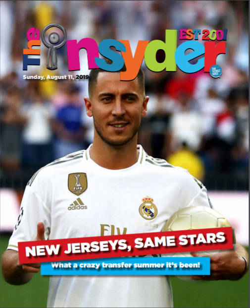 Insyder August 11 Edition
